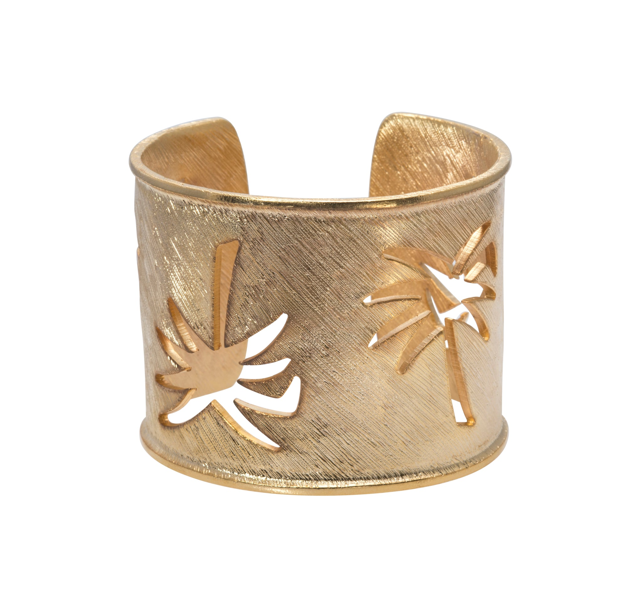 Goldbug Palmetto Wide Cuff Bracelet