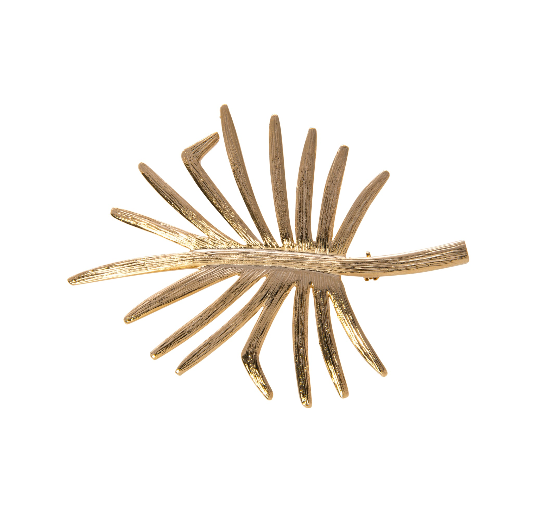 Goldbug Palmetto Pendant Necklace
