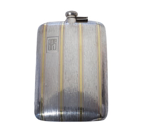 Estate Sterling Silver Pint Flask