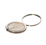 Estate Sterling Silver Mirror Compact