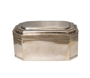Estate D. George Collins English Sterling Silver Box