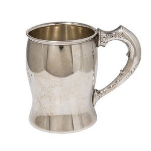 Estate Engraved Canadian Sterling Silver Baby Cup