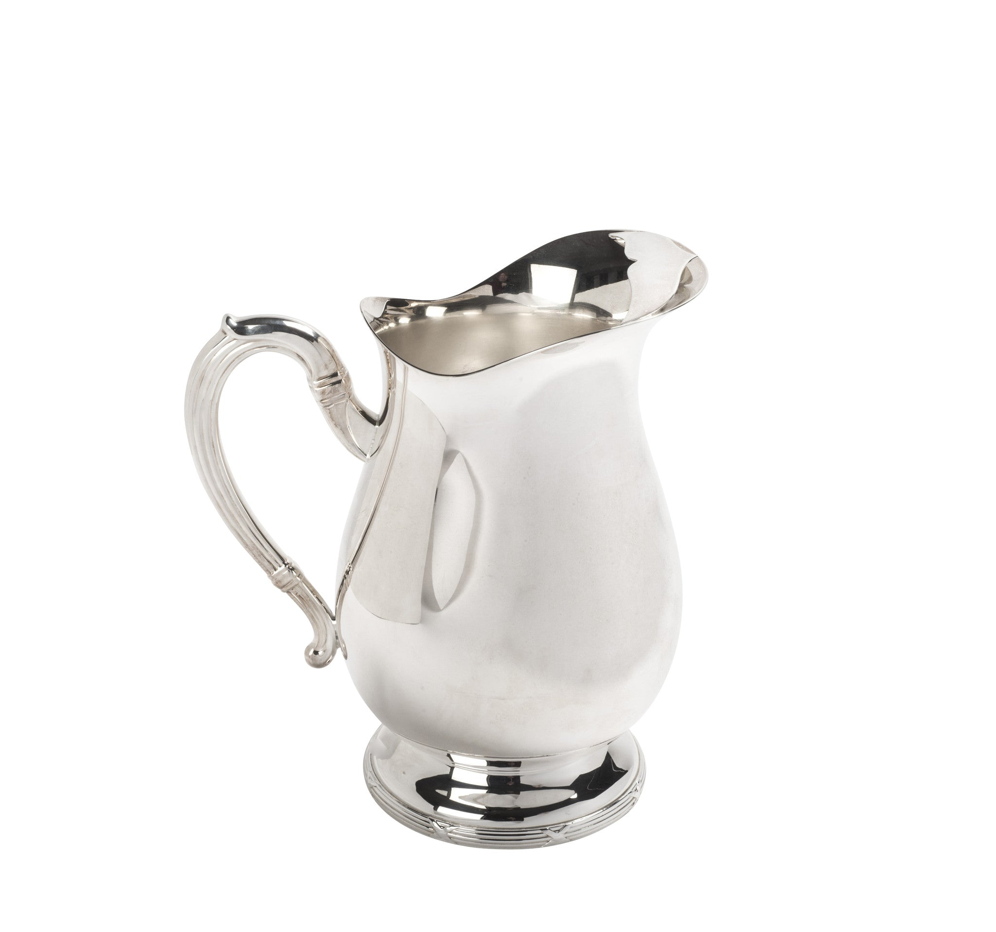 Croise Silver-Plated Water Pitcher