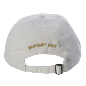 Goldbug Collection Classic White Baseball Cap Hat