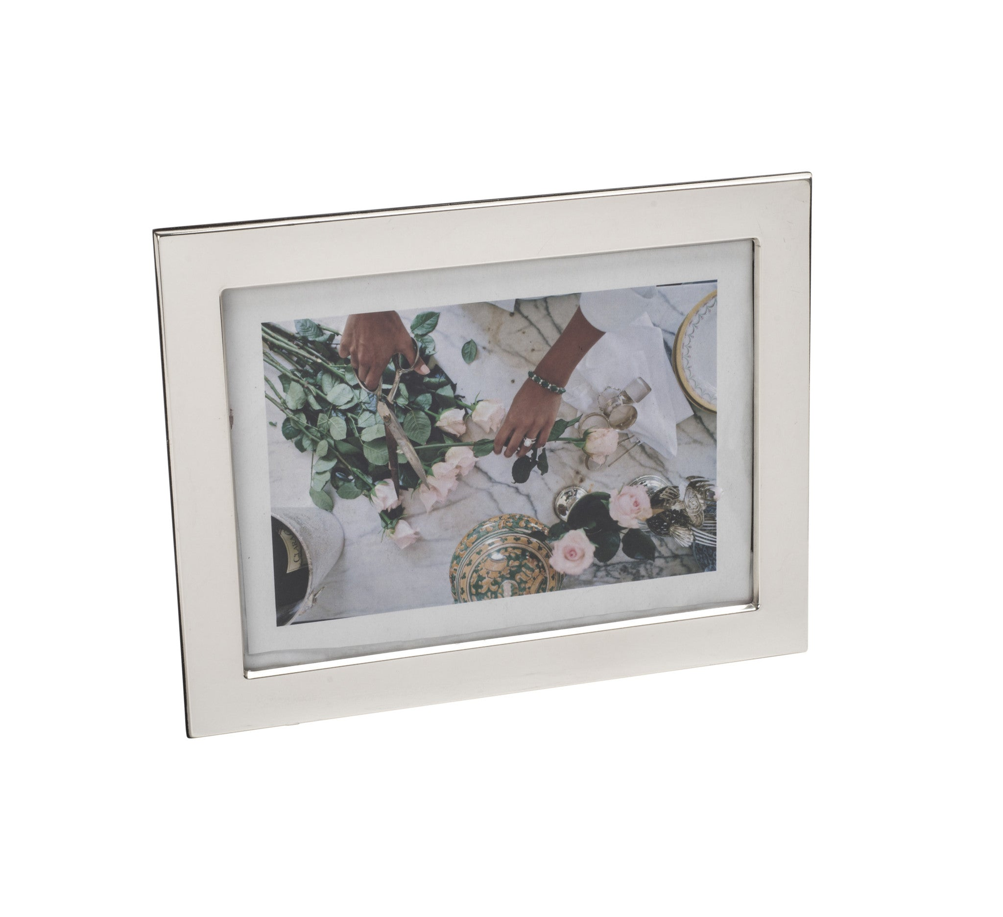 Classic 5 x 7 Sterling Silver Picture Frame