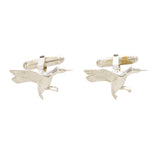 Sterling Silver SEWE Duck Cufflinks