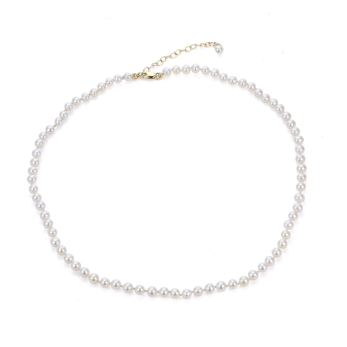 4mm AA Freshwater Pearl Child's Necklace