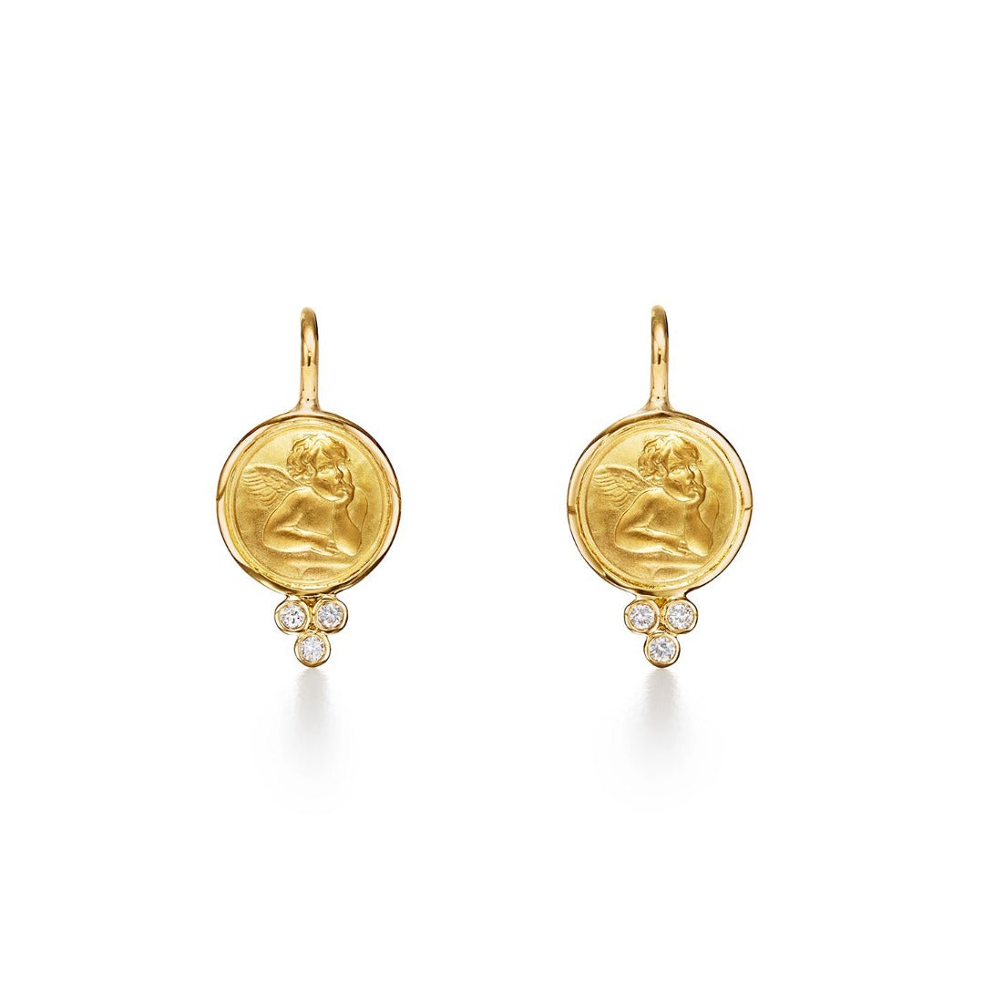 Temple St. Clair Angel Earrings