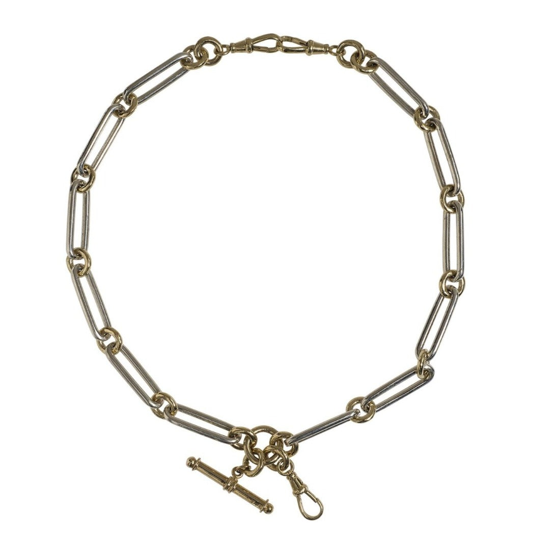 Dudley VanDyke Two-Tone Kristopher Double Albert Chain