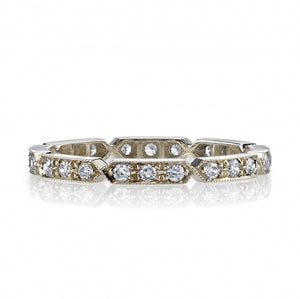 Single Stone Carly Eternity Band