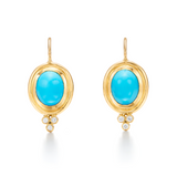 Temple St. Clair Turquoise Classic Earrings