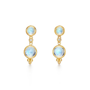 Temple St. Clair Double Drop Earrings