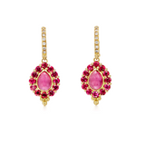 Temple St. Clair Color Theory Pink Earrings