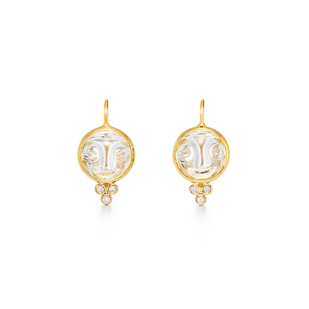 Temple St. Clair Moonface Earrings