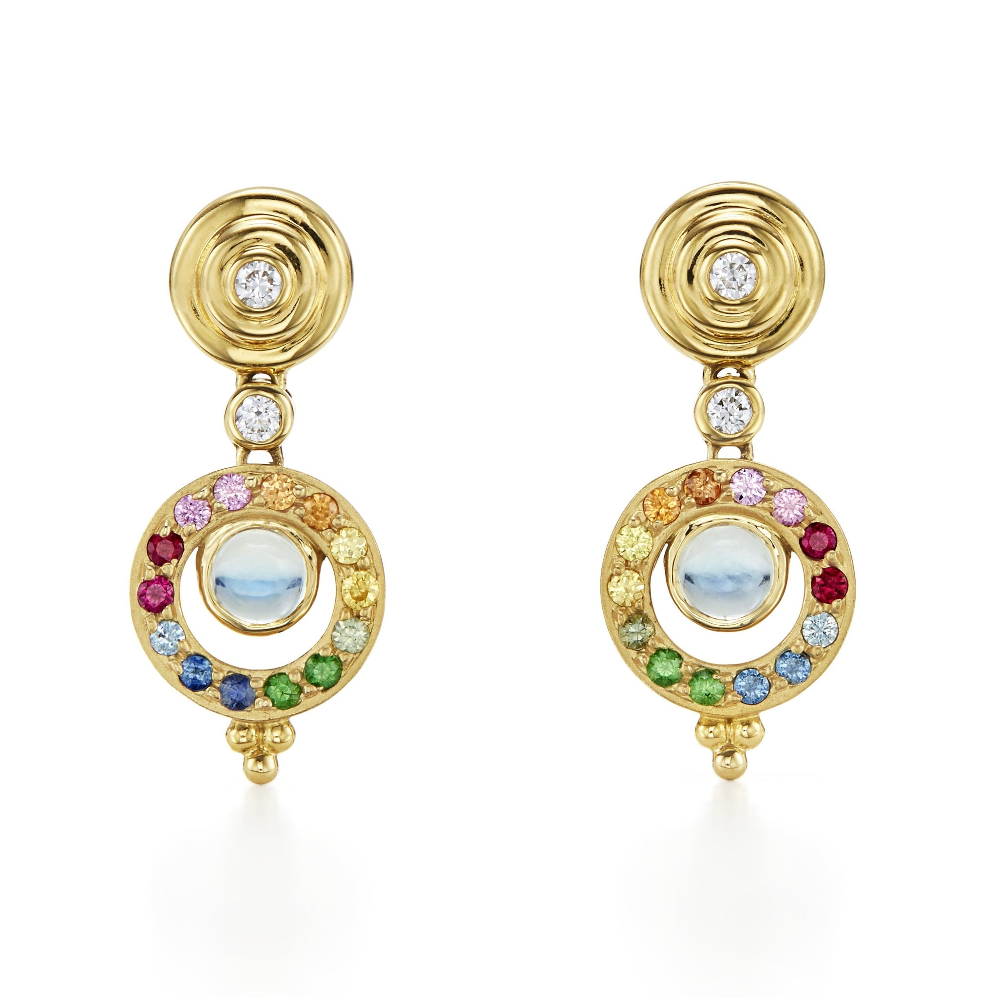 Temple St. Clair Double Tolomeo Earrings