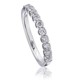 Christopher Designs .43ct Diamond Halfway 18K Gold Band