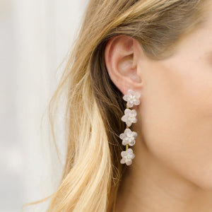Chalmers Street Multi-Flower Drop Earrings