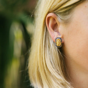 Goldbug Tangled Up In Blue Small Stud Earrings