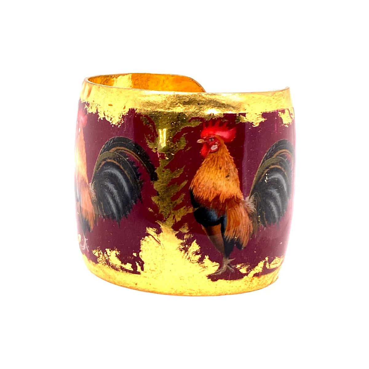 Gamecock Gold Leaf Cuff