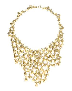 Goldbug Bib Necklace