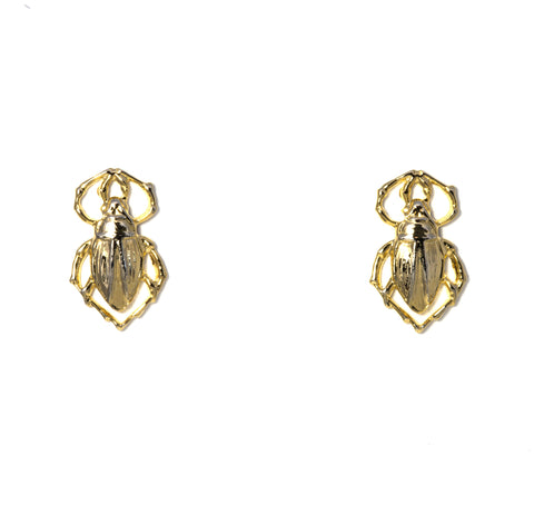 Goldbug Earrings