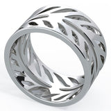 Grainger McKoy Hand-Cut Sterling Silver Ring