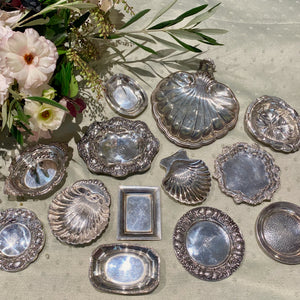 Estate Sterling Silver Butter Pat or Nut Dish