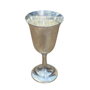 Estate International Sterling Silver Water Goblet