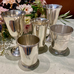 Estate Sterling Silver Highball Tumbler