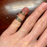 Victorian Pearl 10K Gold Baby Ring