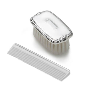 Sterling Baby Boy Brush & Comb Set