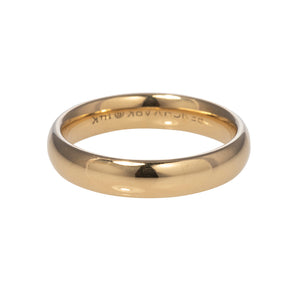 Men's Comfort Fit 14K Yellow Gold 4mm Band