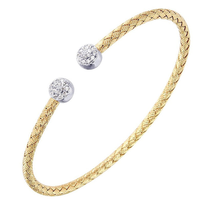 Charles Garnier Paris Bebe Cuff Bangle Bracelet