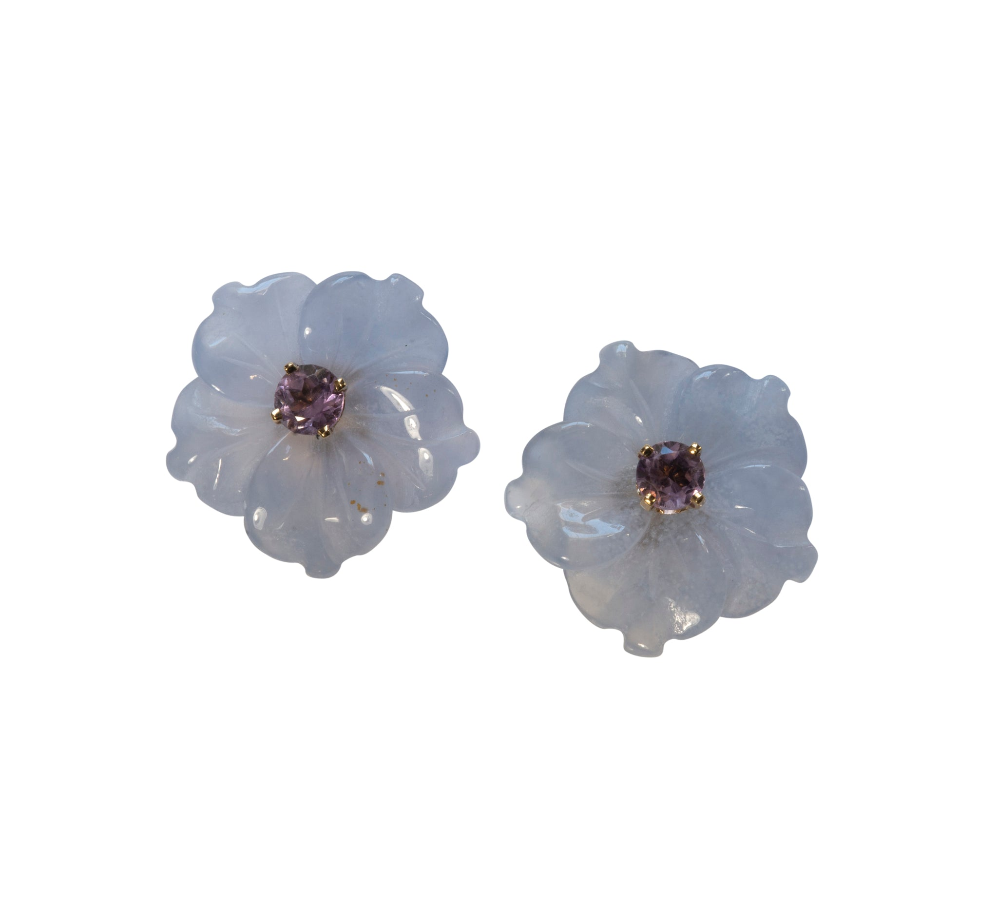 Bullock Building Medium Flower Stud Earrings