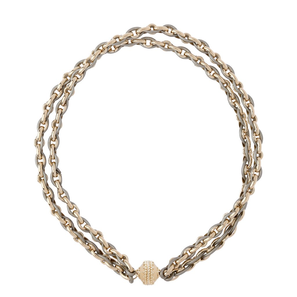 Clara Williams Dusted Gold Randolph Necklace