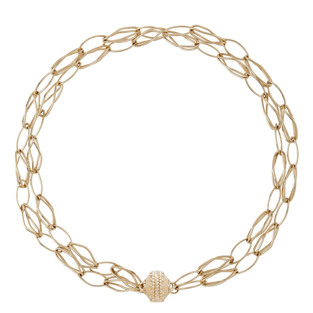 Clara Williams Willow Double Strand Necklace