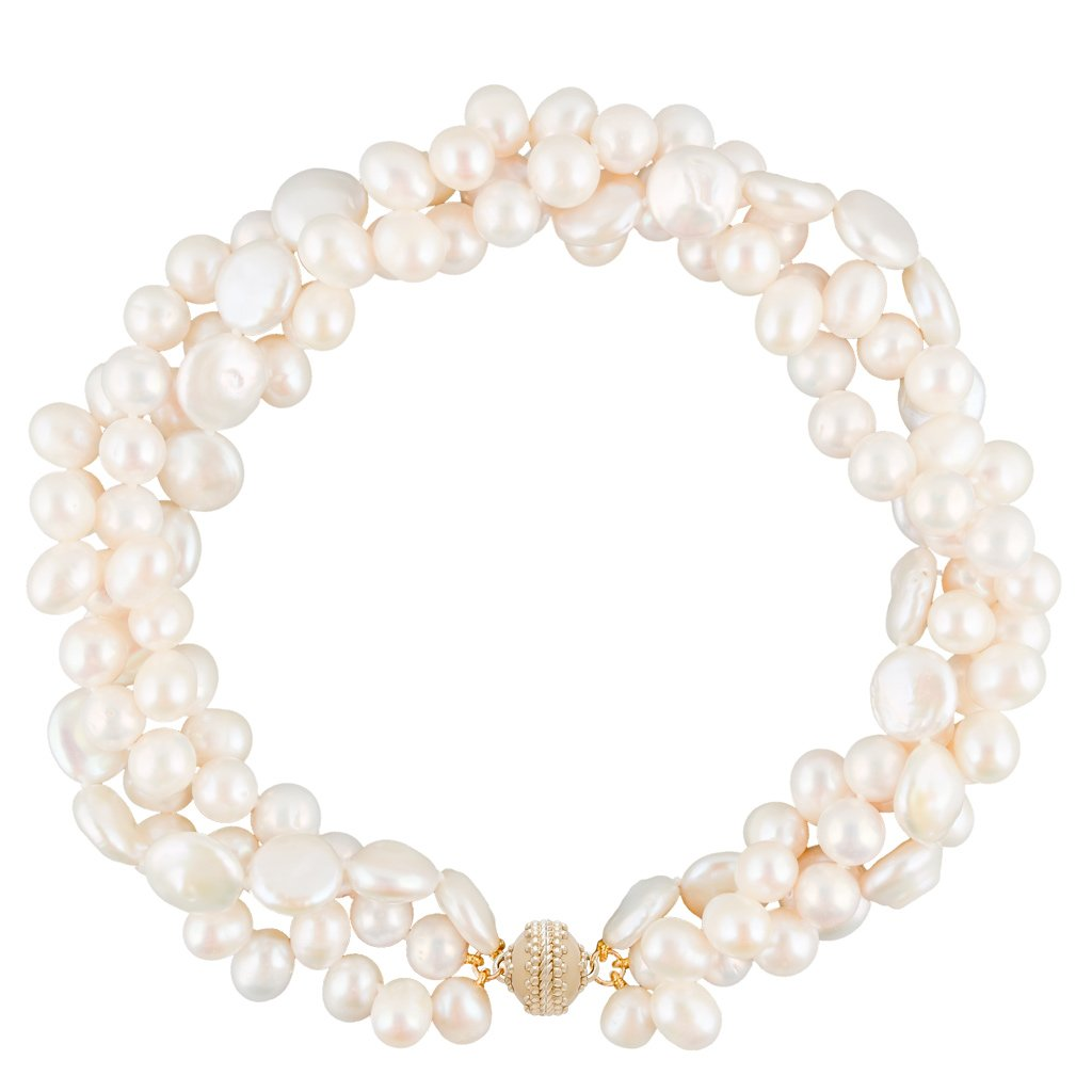 Clara Williams Pearl Multi-Strand Necklace