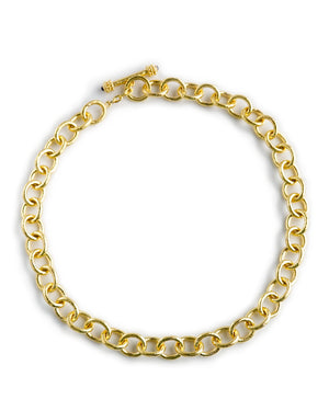 Elizabeth Locke Montecatini Link Necklace with Toggle Clasp