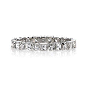 Single Stone Platinum Addie Band