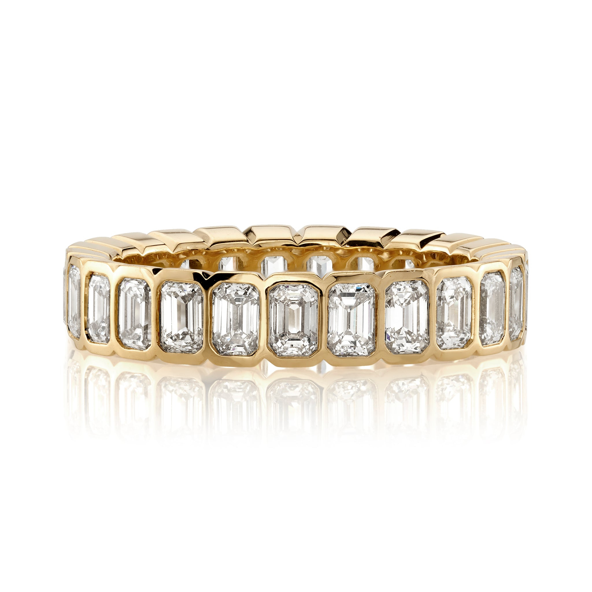 Single Stone Athena Eternity Band
