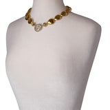 Clara Williams Gold Rush Teardrop Necklace