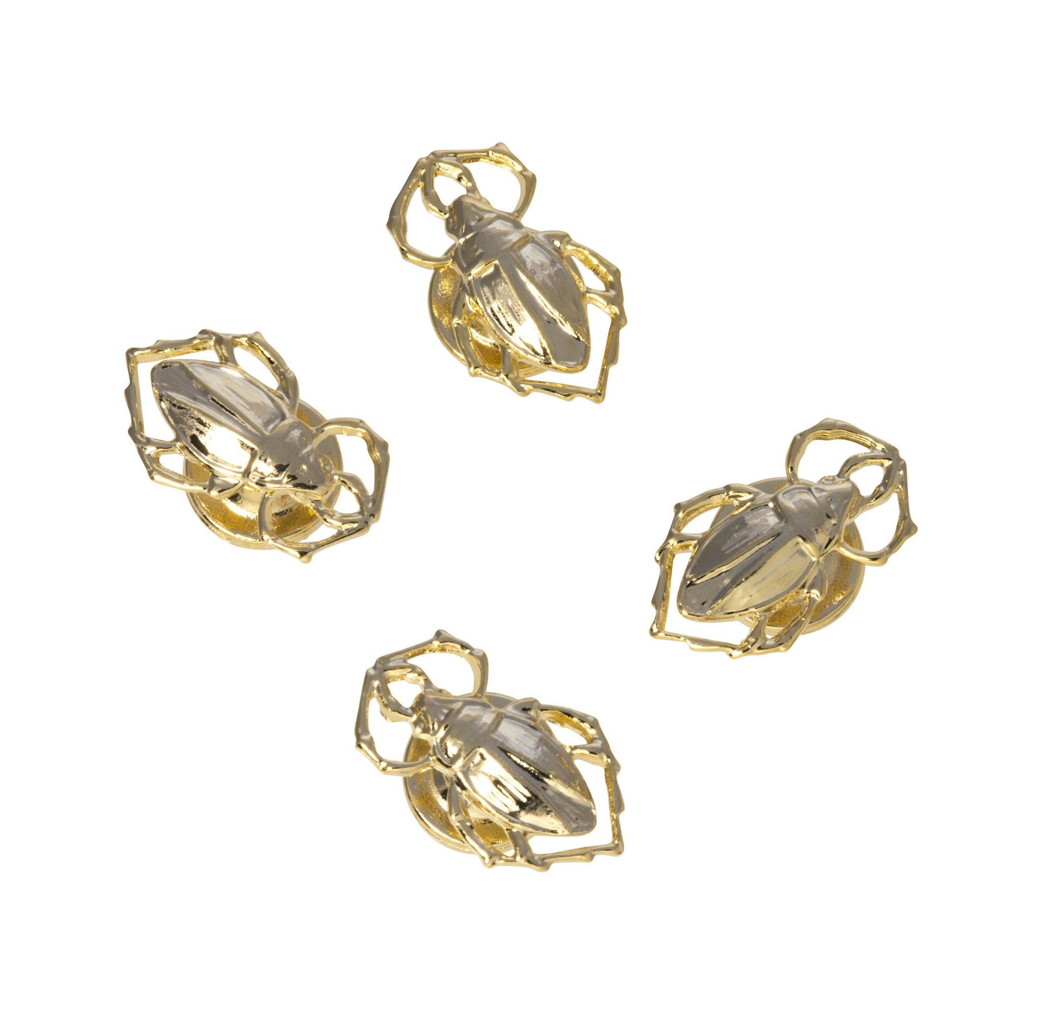 Goldbug Shirt Studs