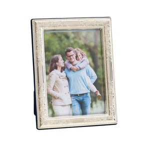 Nostalgia 4 x 6 Sterling Silver Picture Frame