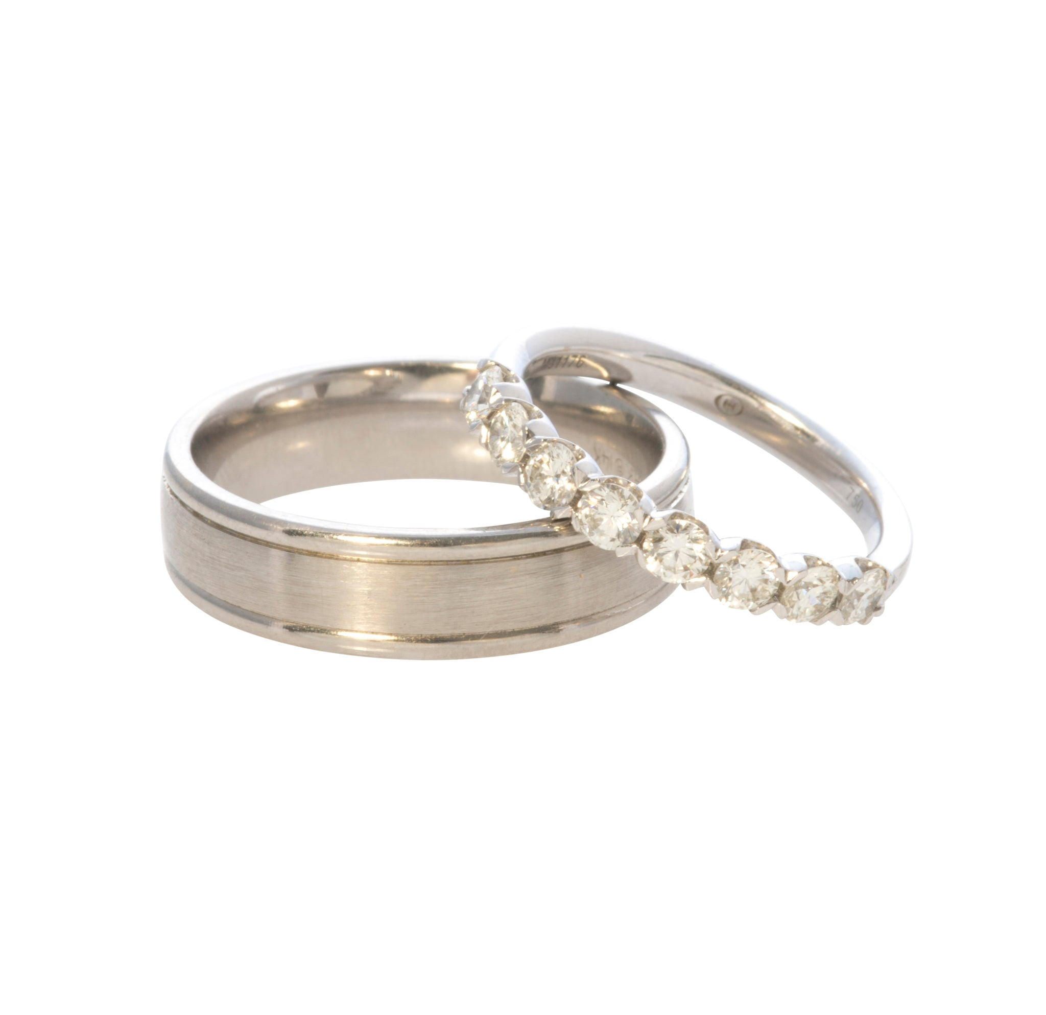 Christopher Designs Diamond Halfway Band