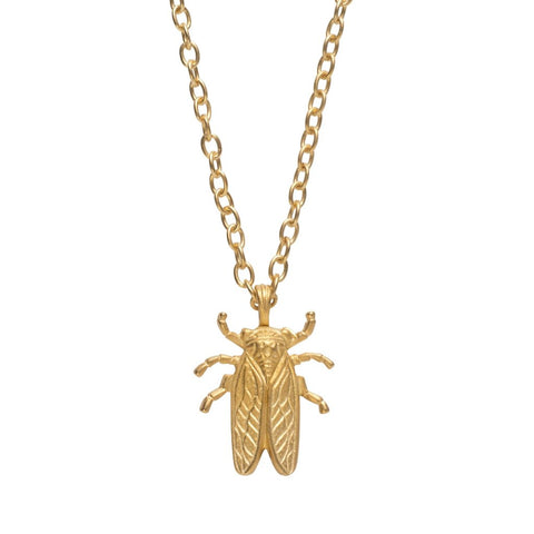 Stayin' Alive Goldbug Pendant Necklace