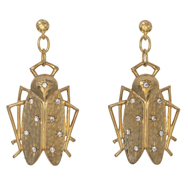 Goldbug Shining Star Drop Earrings