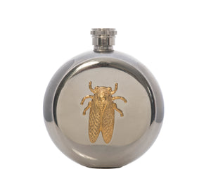 Goldbug Stainless Steel Round Flask