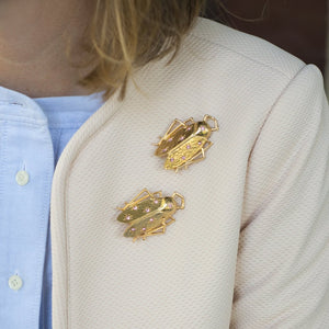Goldbug Shining Star Pin