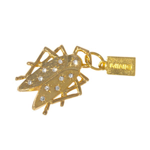 Goldbug Shining Star Charm