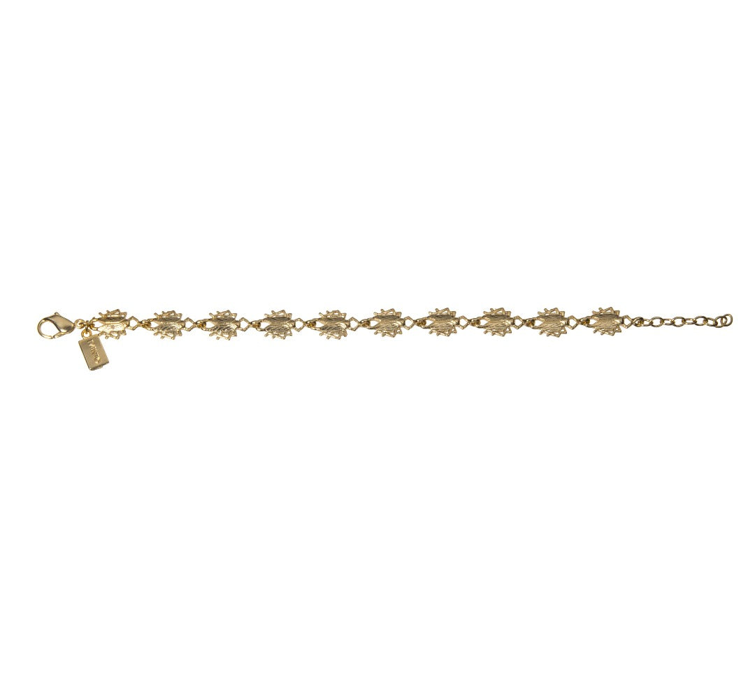 Goldbug Tiny Bug Chain Bracelet